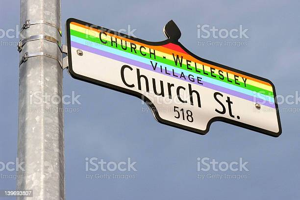 Church Street Sign Stock Photo - Download Image Now