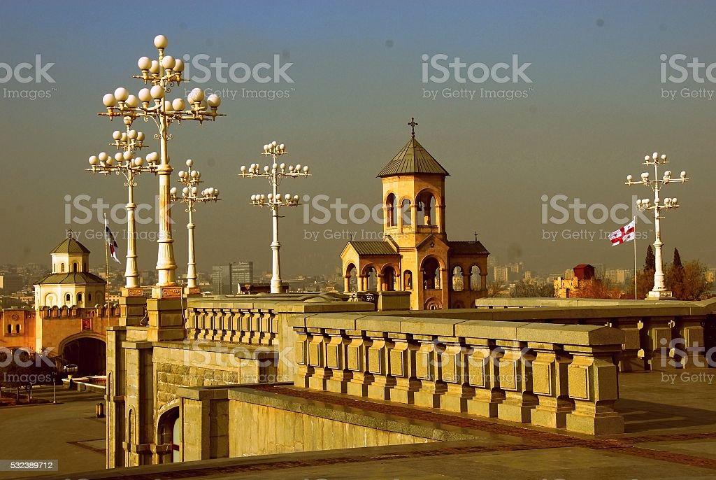 Церковь Тбилиси стоковое фото
