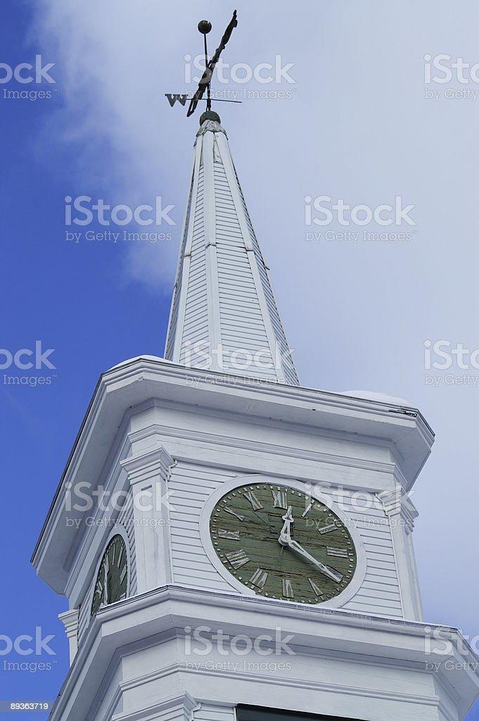 Église de temps photo libre de droits