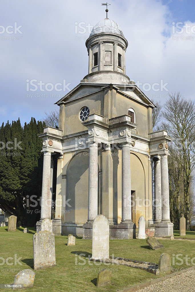Church Tower at Mistley Essex stock photo