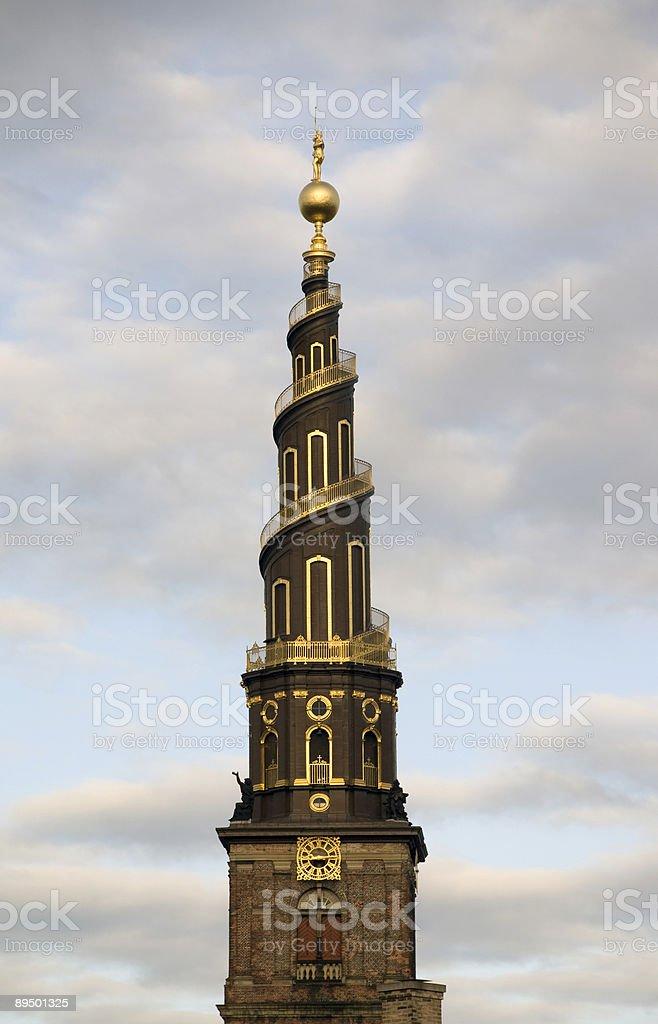 Kościół Wieża zbiór zdjęć royalty-free