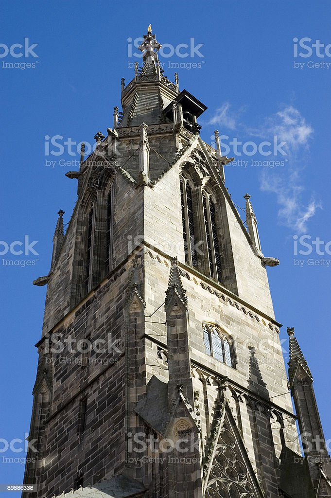 church tower royalty free stockfoto