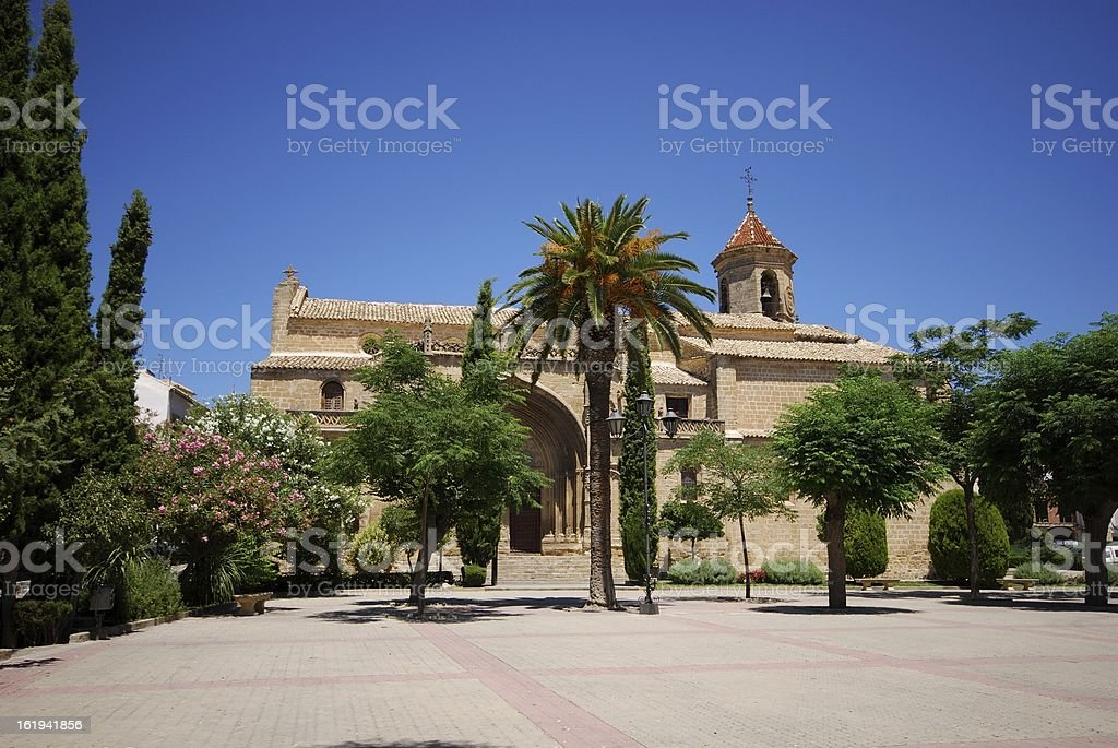 Church, Ubeda, Andalusia, Spain. royalty-free stock photo