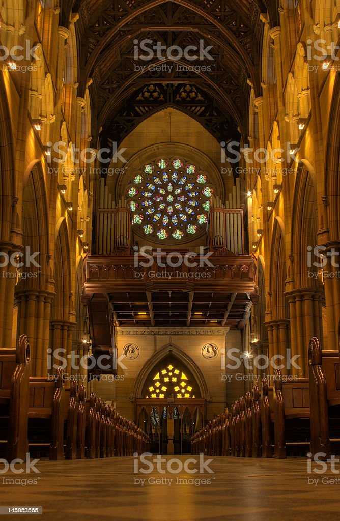 church - vertical royalty-free stock photo