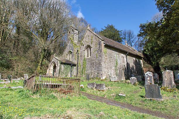 Iglesia-gales - foto de stock