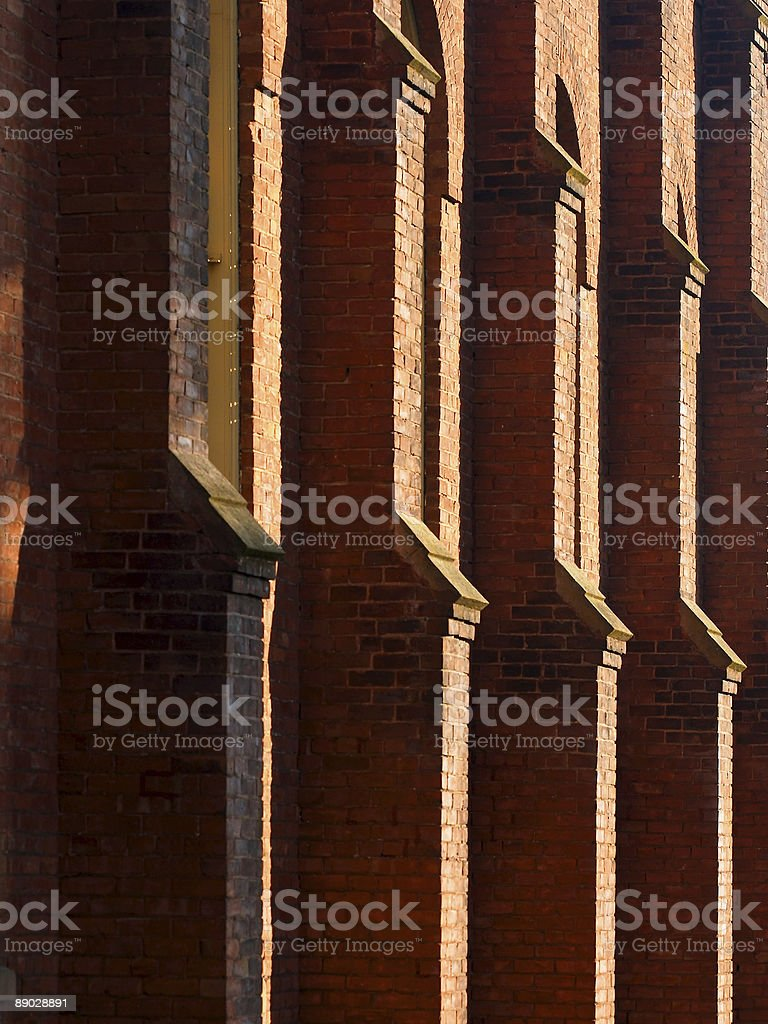 Church Wall royalty-free stock photo