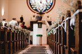 church wedding ceremony flowers decor