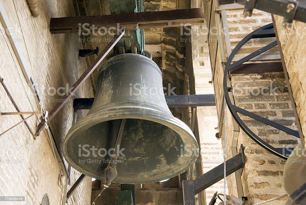 Churchbell stock photo