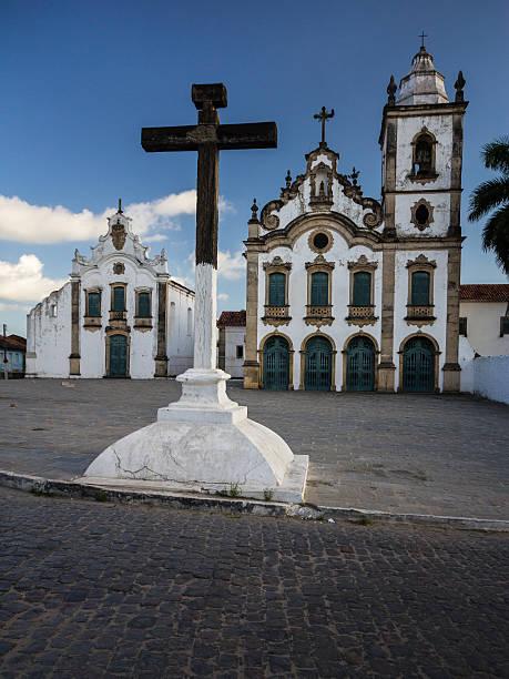Churches at Historic Center of Marechal Deodoro city – Foto