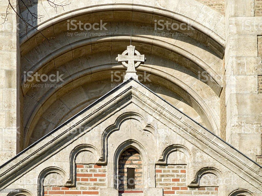 Churches in Munich: St Maximilian royalty-free stock photo