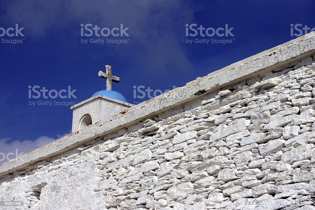 Chiese di Andros, Grecia foto stock royalty-free