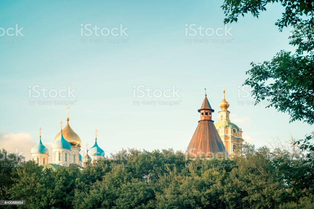 churches stock photo