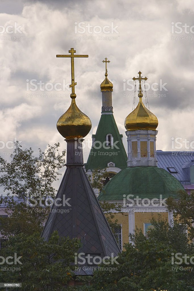 Churches royalty-free stock photo