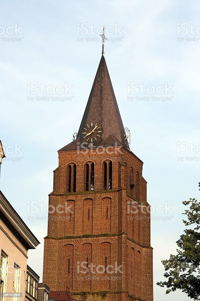 Church-top royalty-free stock photo