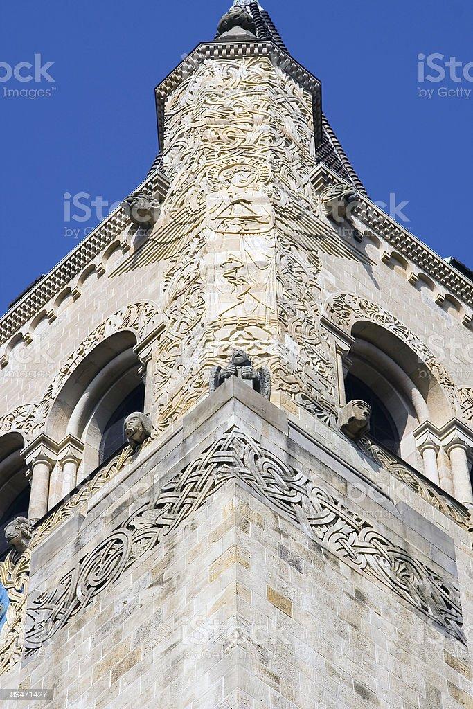 churchtower foto de stock libre de derechos