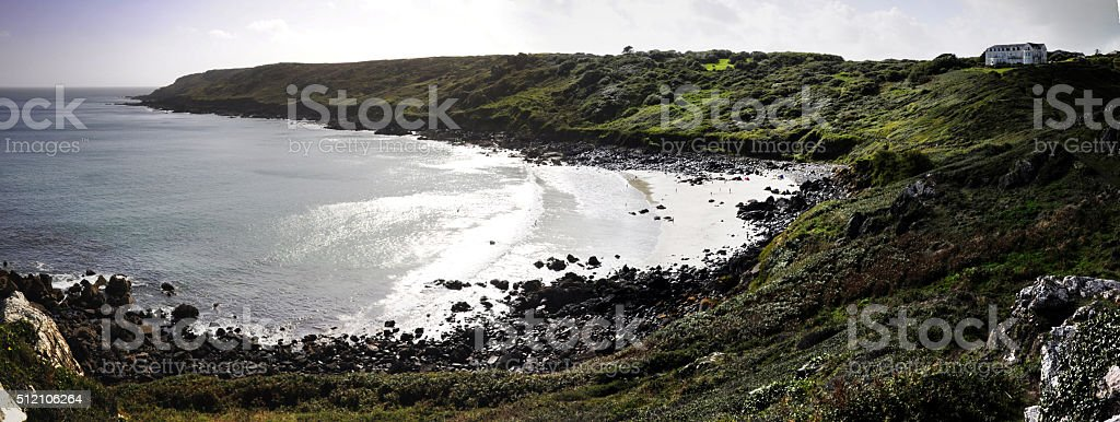 Chynnhalls Point stock photo
