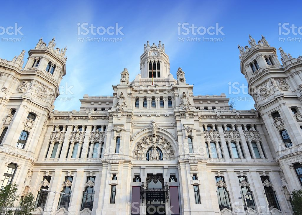 Cibeles, Madrid stock photo