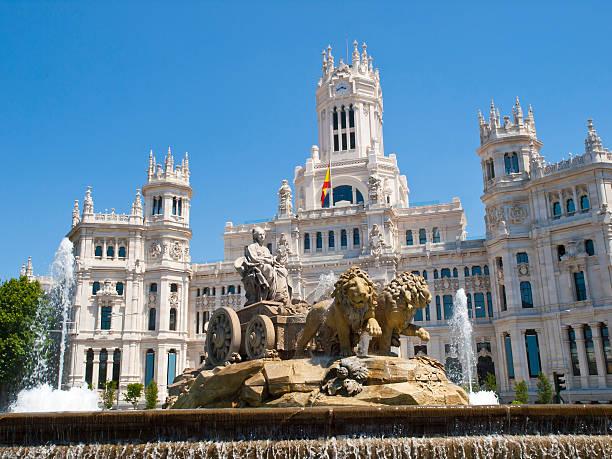 Cibeles Square, Madrid stock photo