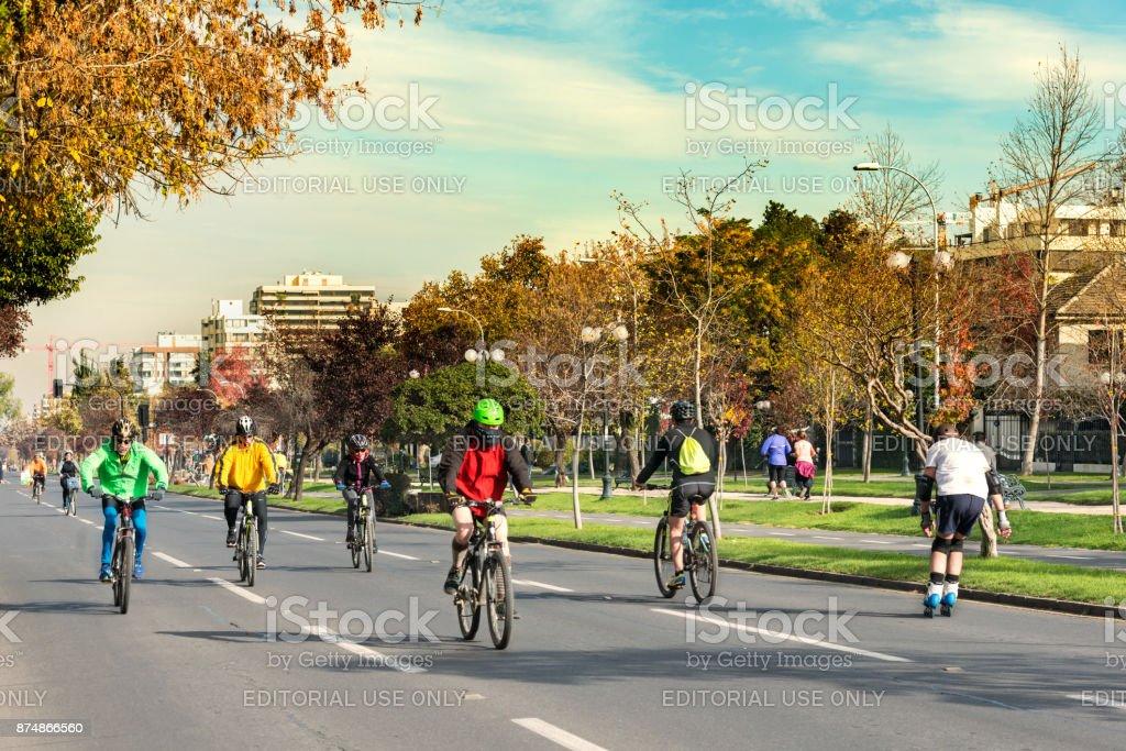 Ciclo Recreo Via stock photo