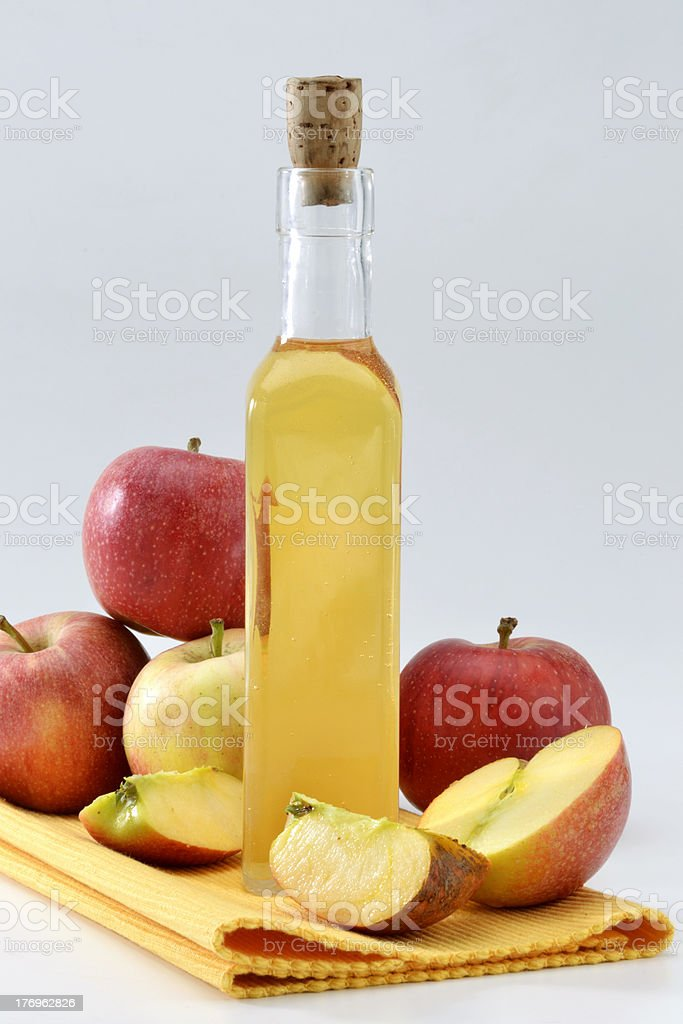 Cider vinegar royalty-free stock photo