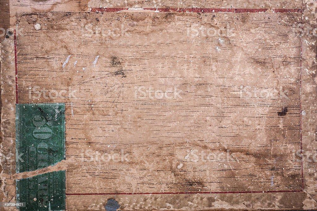 Cigar box background stock photo