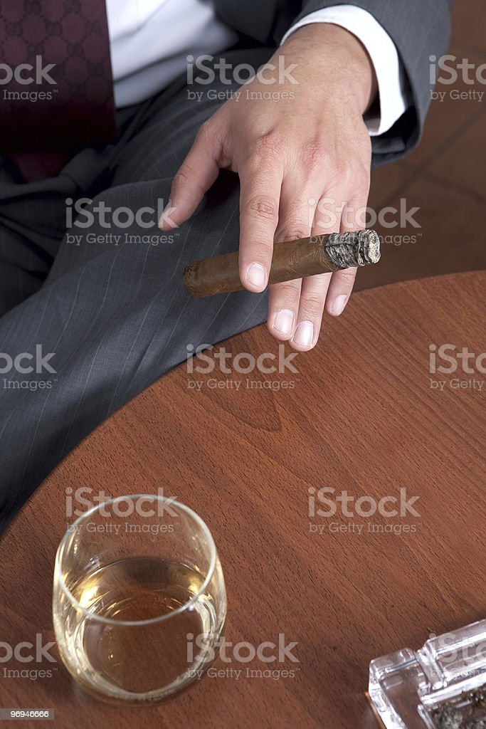 cigar royalty-free stock photo