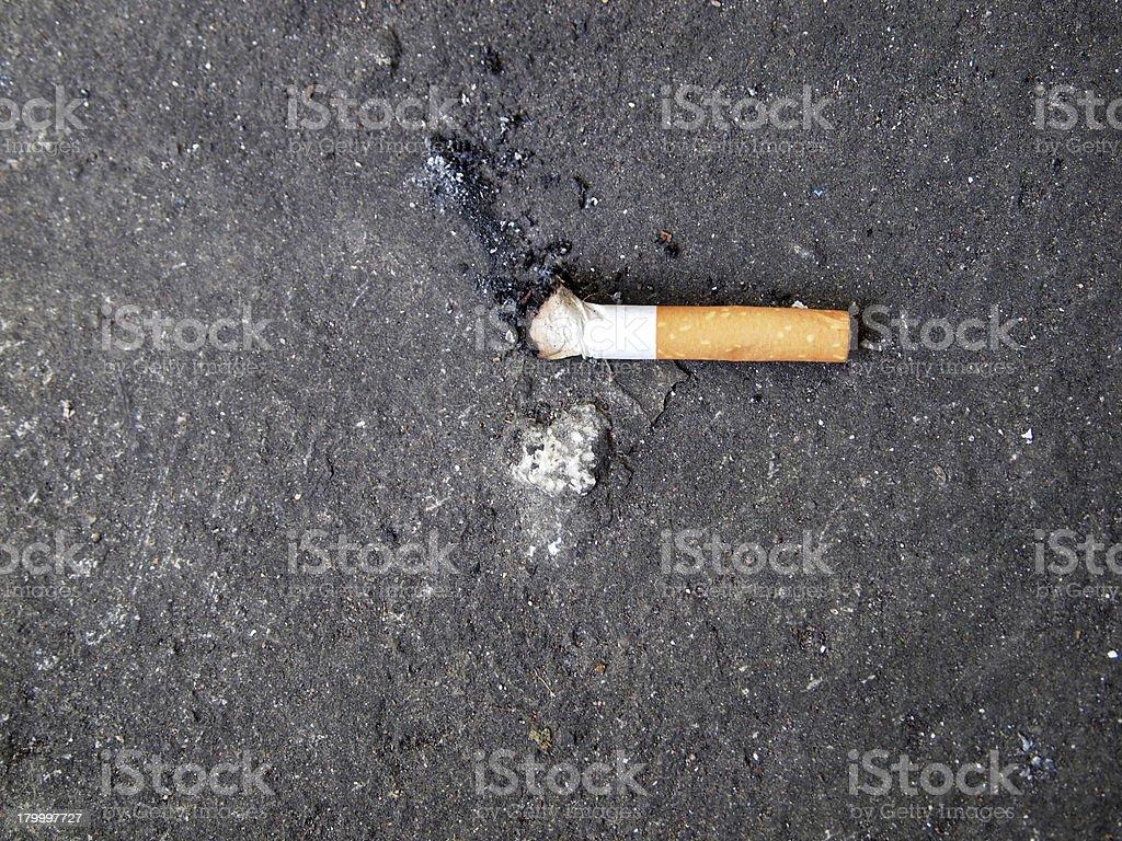 시가렛형 허용치 않음 디자인됨 키니키니 직원관리 흡연 royalty-free 스톡 사진