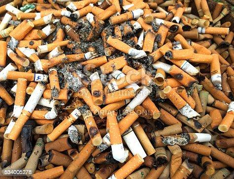 istock Cigarette Butts 2 534005278