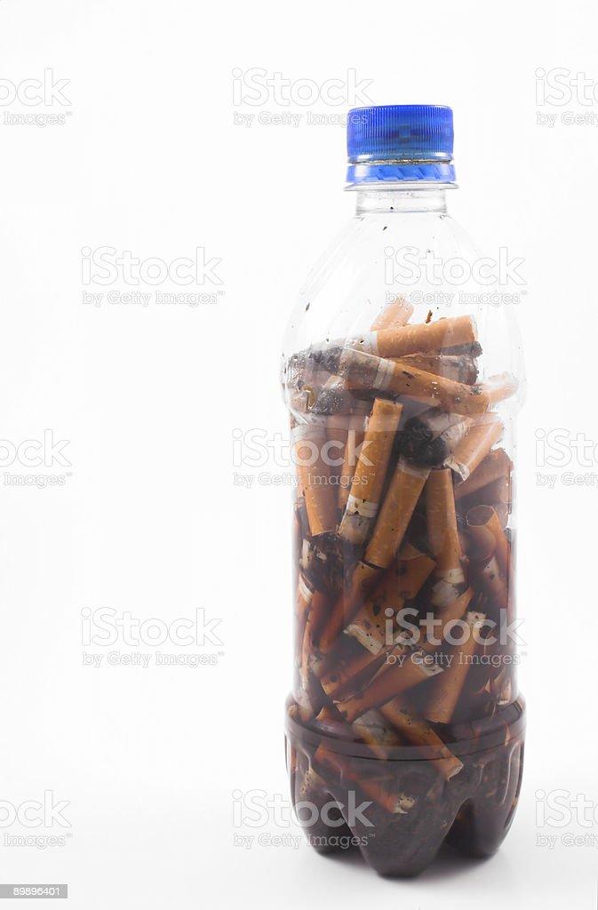 Cigarette Butts Lizenzfreies stock-foto