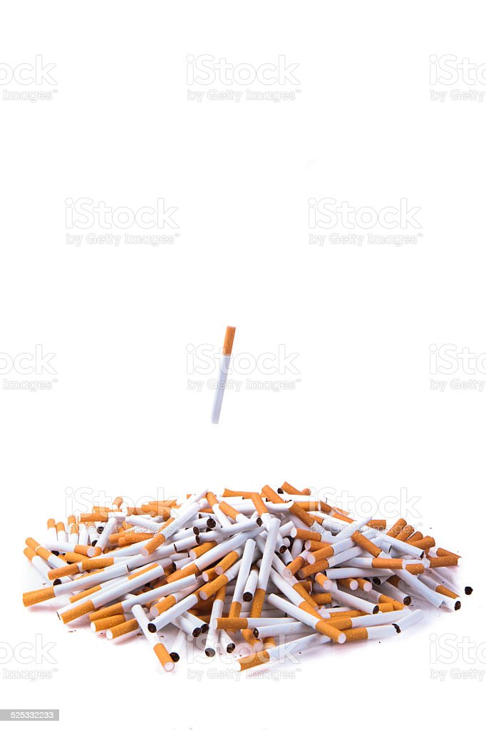 La consommation de cigarettes - Photo
