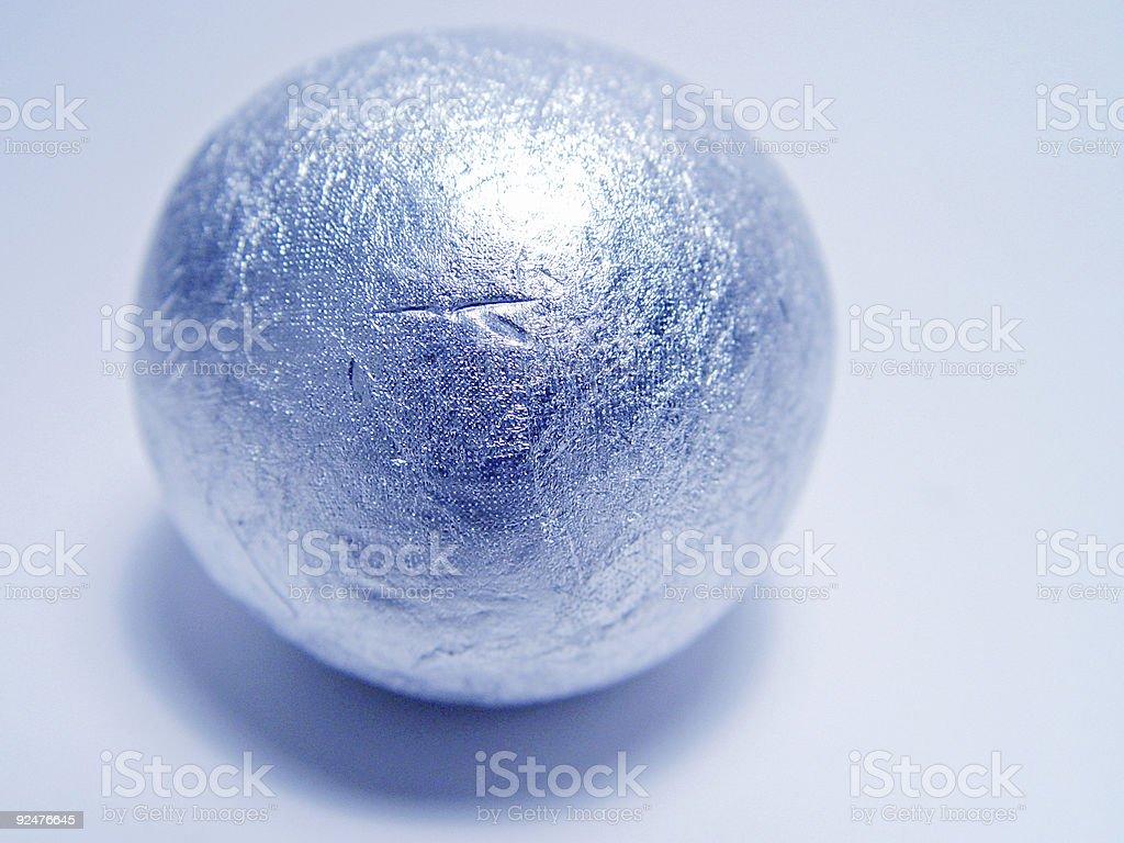 Cigarette Foil Ball royalty-free stock photo