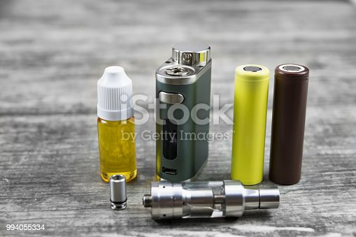 1047961600 istock photo E - cigarette for vaping , technical devices. 994055334