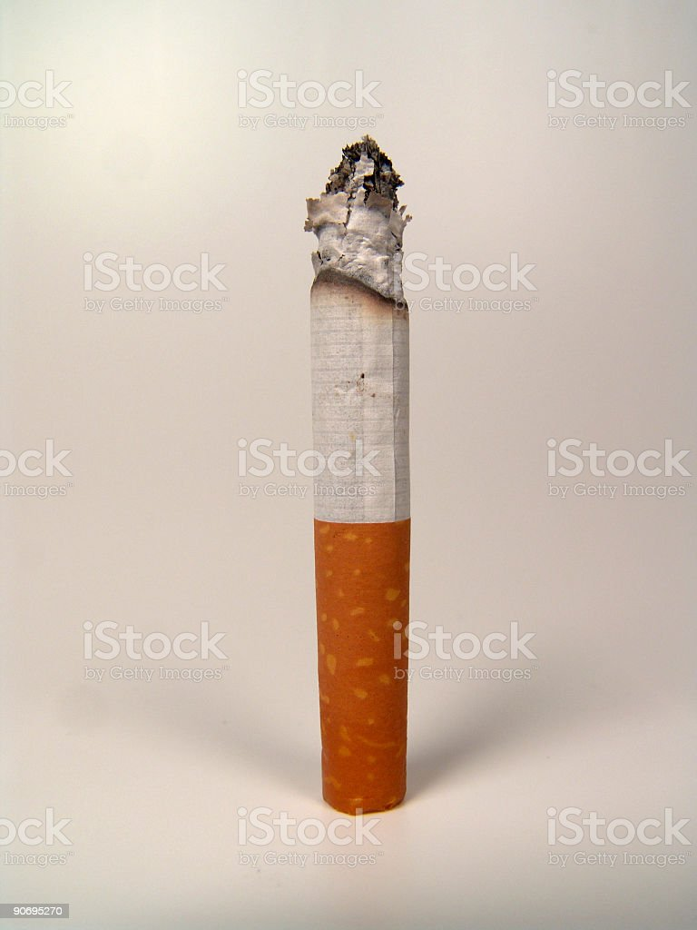 Cigarette, Isolated stock photo