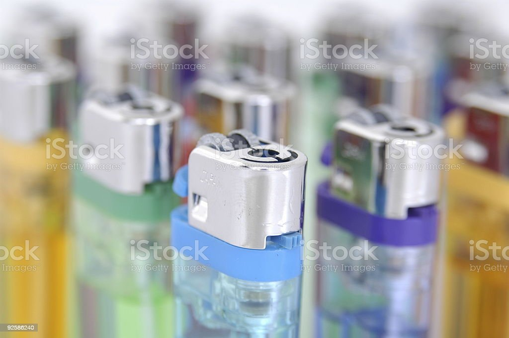 Cigarette Lighters royalty-free stock photo