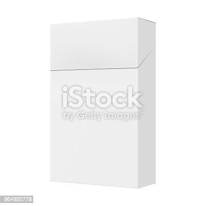 Cigarette Pack. 3D Render