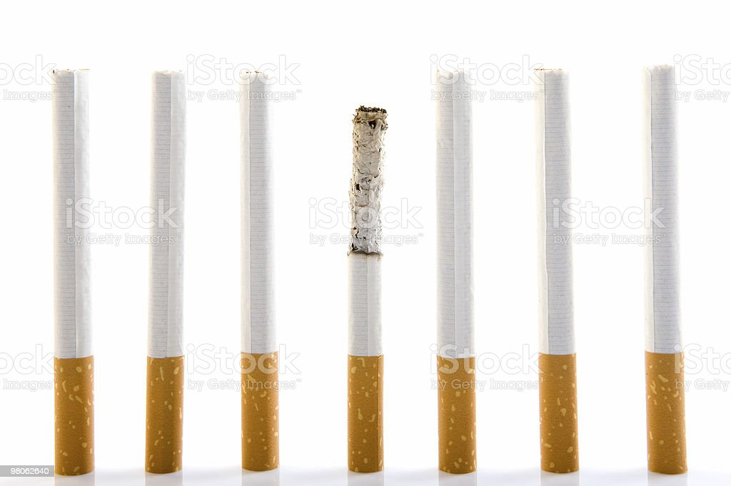 Cigarette series royalty-free stock photo