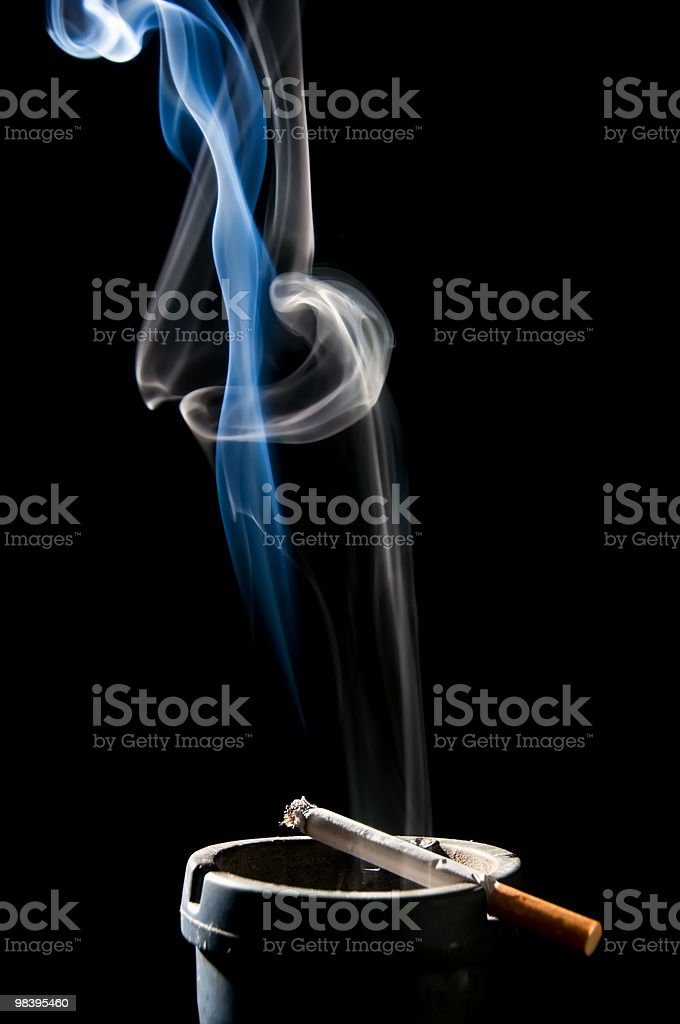 Cigarette Smoke royalty-free stock photo