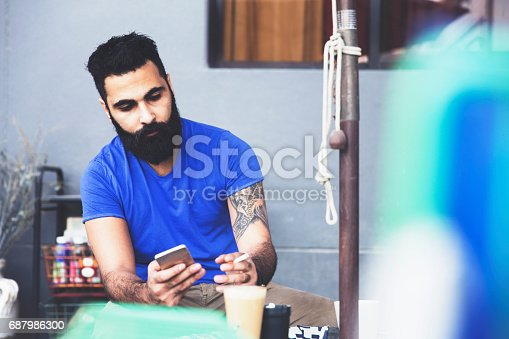istock Cigarettes and social media, I can not ask for more 687986300