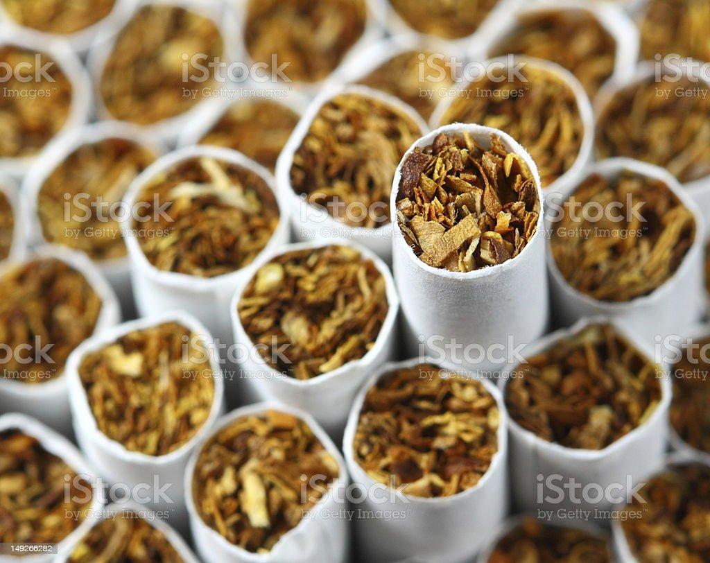 cigarettes background stock photo