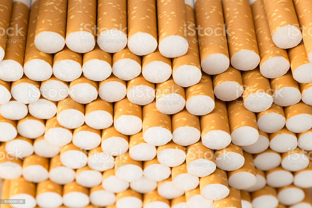 Cigarettes filter background foto de stock royalty-free