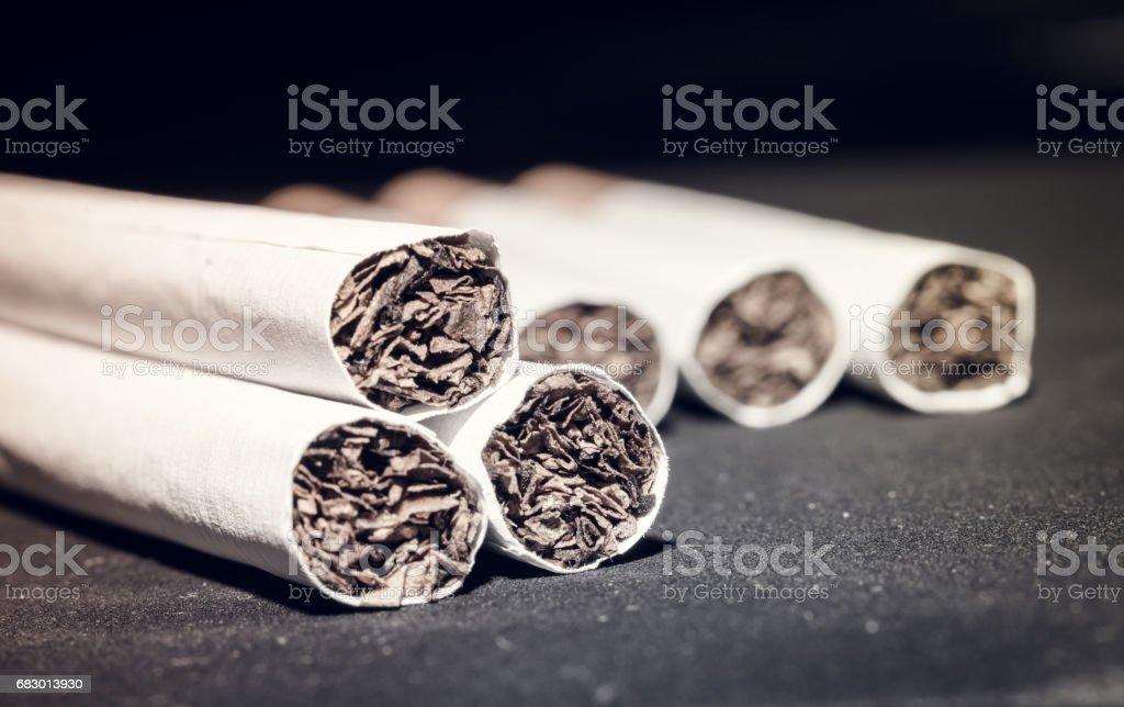 Cigarettes foto de stock libre de derechos