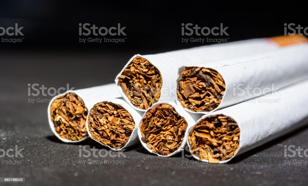 Cigarettes royalty-free 스톡 사진