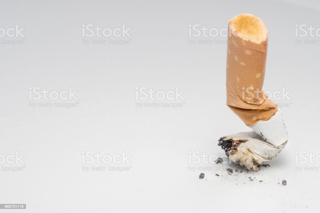 Cigarette,Stop smoking stock photo