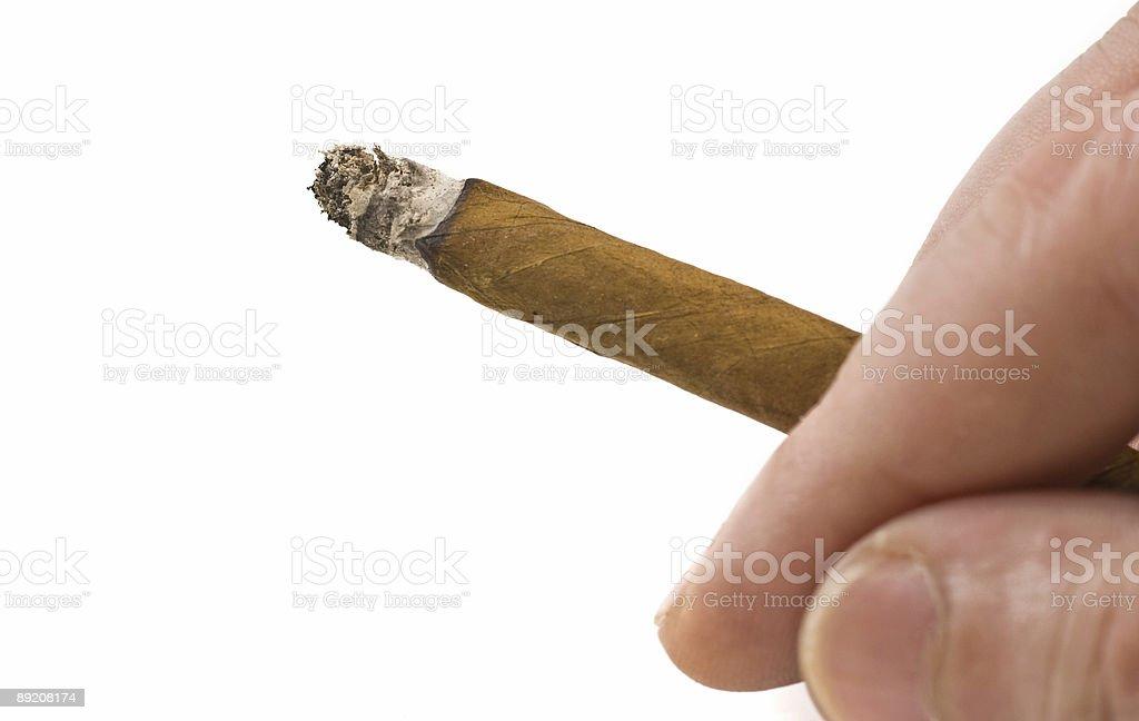 cigarillo royalty-free stock photo