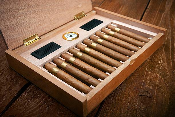 Zigarren im humidor – Foto