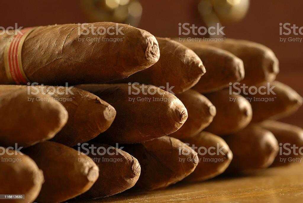 cigars royalty-free stock photo
