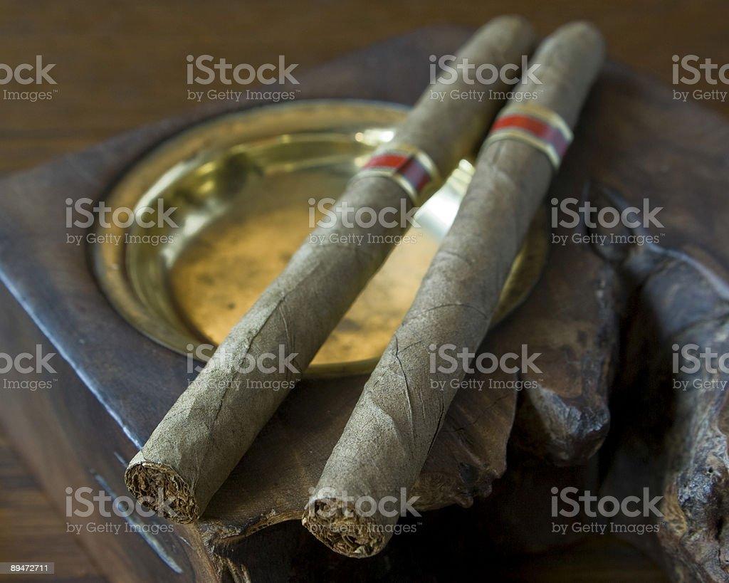 cigars1 foto de stock libre de derechos
