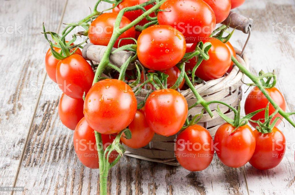 Cigliegini tomatoes - foto stock