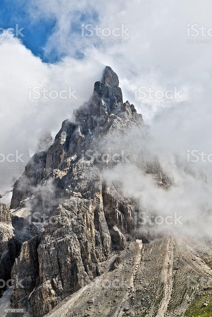 Cimon della Pala, Trentino stock photo