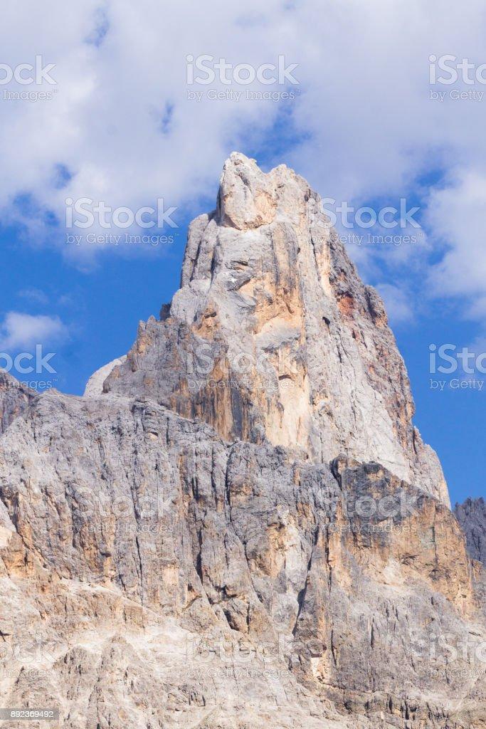 Cimon della Pala view stock photo